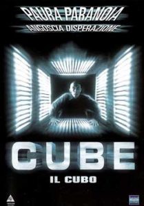 locandina cube il cubo film